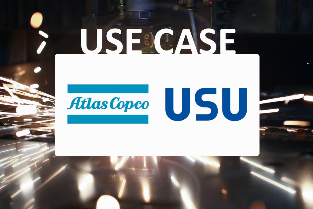 Vorstellung eines Service-Meister Use Cases in dem USU und Atlas Copco zusammenarbeiten